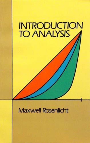 INTRODUCTION TO ANALYSIS MAXWELL ROSENLIGHT Ξενόγλωσσα