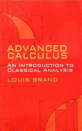 ADVANCED CALCULUS LOUIS BRAND Ξενόγλωσσα