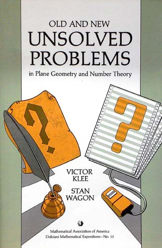 OLD AND NEW UNSOLVED PROBLEMS VICTOR KLEE, STAN WAGON Ξενόγλωσσα