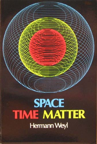 SPACE - TIME - MATTER HERMANN WEYL Ξενόγλωσσα