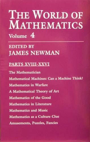 THE WORLD OF MATHEMATICS (VOLUME 4) JAMES NEWMAN Ξενόγλωσσα