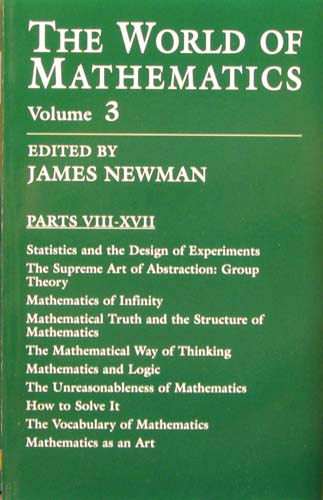THE WORLD OF MATHEMATICS (VOLUME 3) JAMES NEWMAN Ξενόγλωσσα