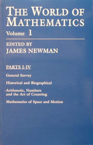 THE WORLD OF MATHEMATICS (VOLUME 1) JAMES NEWMAN Ξενόγλωσσα